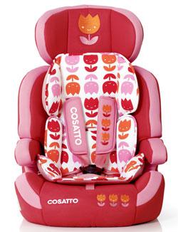 Zoomi car seat in Bloom