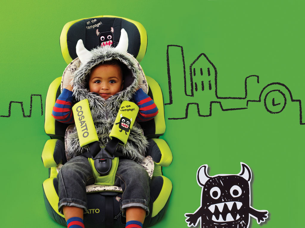 Cosatto Zoomi Group 1/2/3 Car Seat - Bloom: Amazon.co.uk: Baby