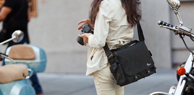 lowepro urban shoulder bag