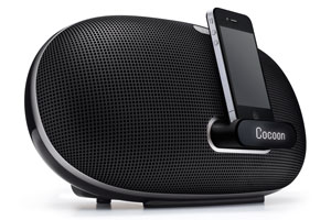 Cocoon Portable with iPhone docked