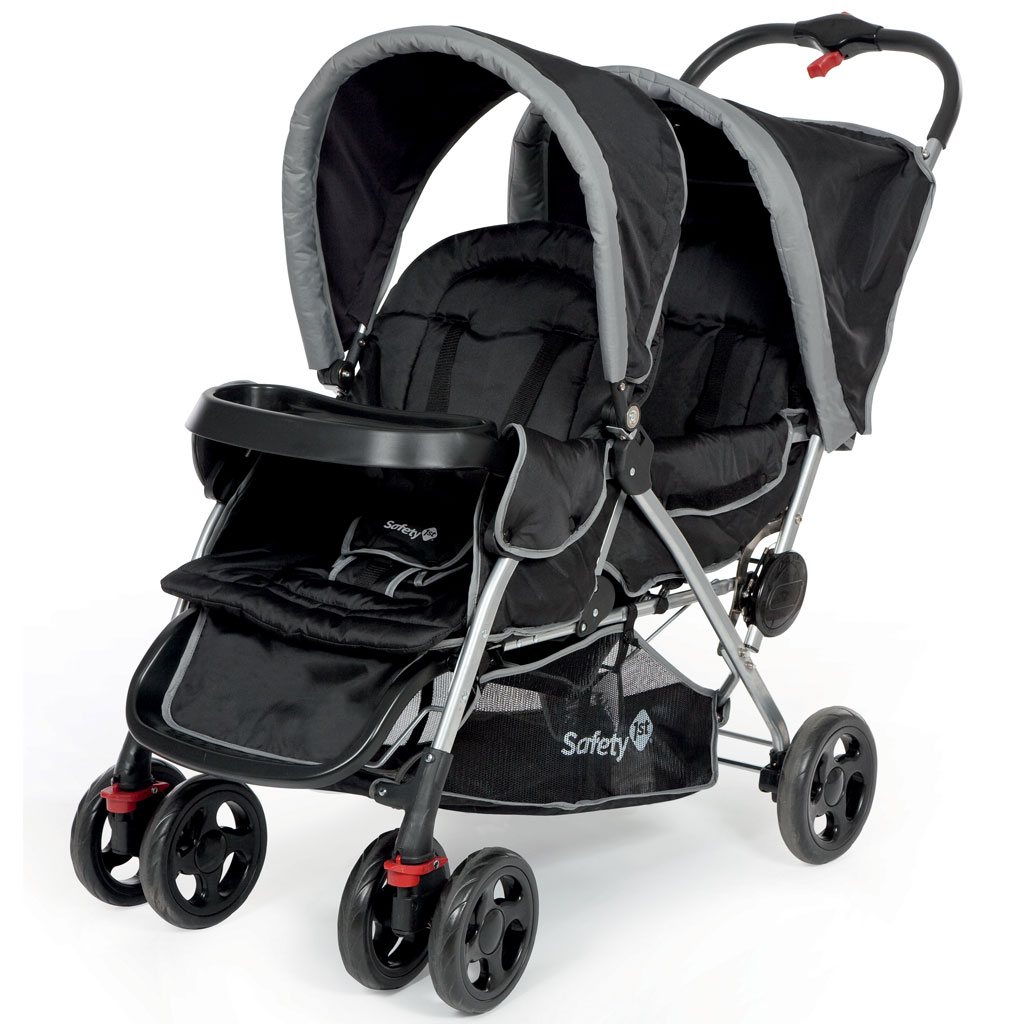 Safety 1st Duodeal Tandem Pushchair Black Sky Amazon Co
