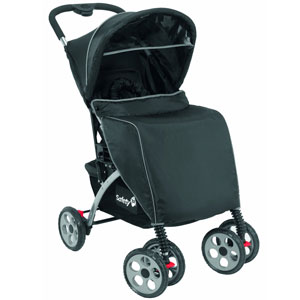 Pushchair with accessories