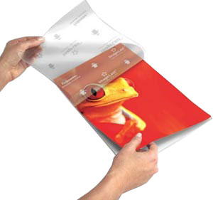 fellowes laminating pouches instructions