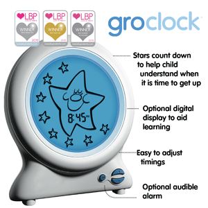 The Gro Company Gro Clock Sleep Trainer Amazoncouk Baby