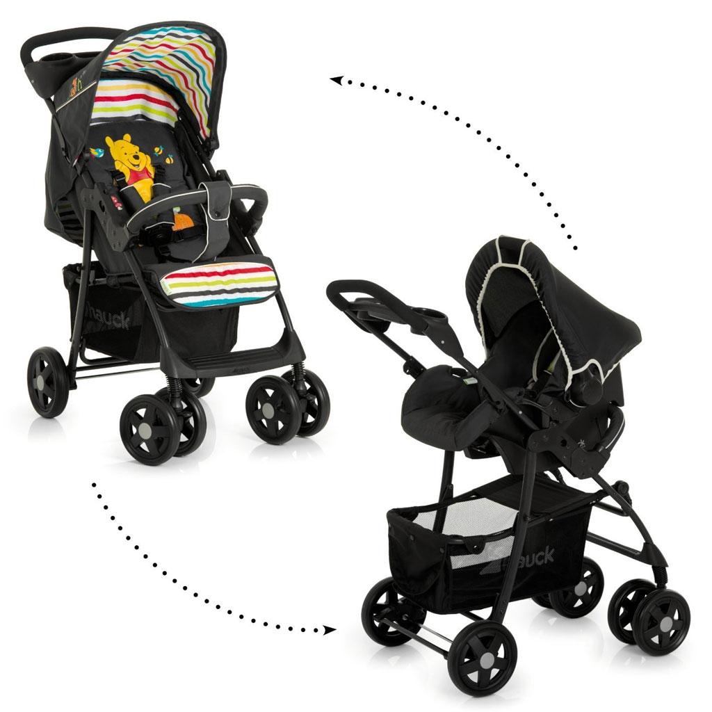 hauck disney shopper shop n drive set lightweight travel system from birth poo 4007923152928. Black Bedroom Furniture Sets. Home Design Ideas