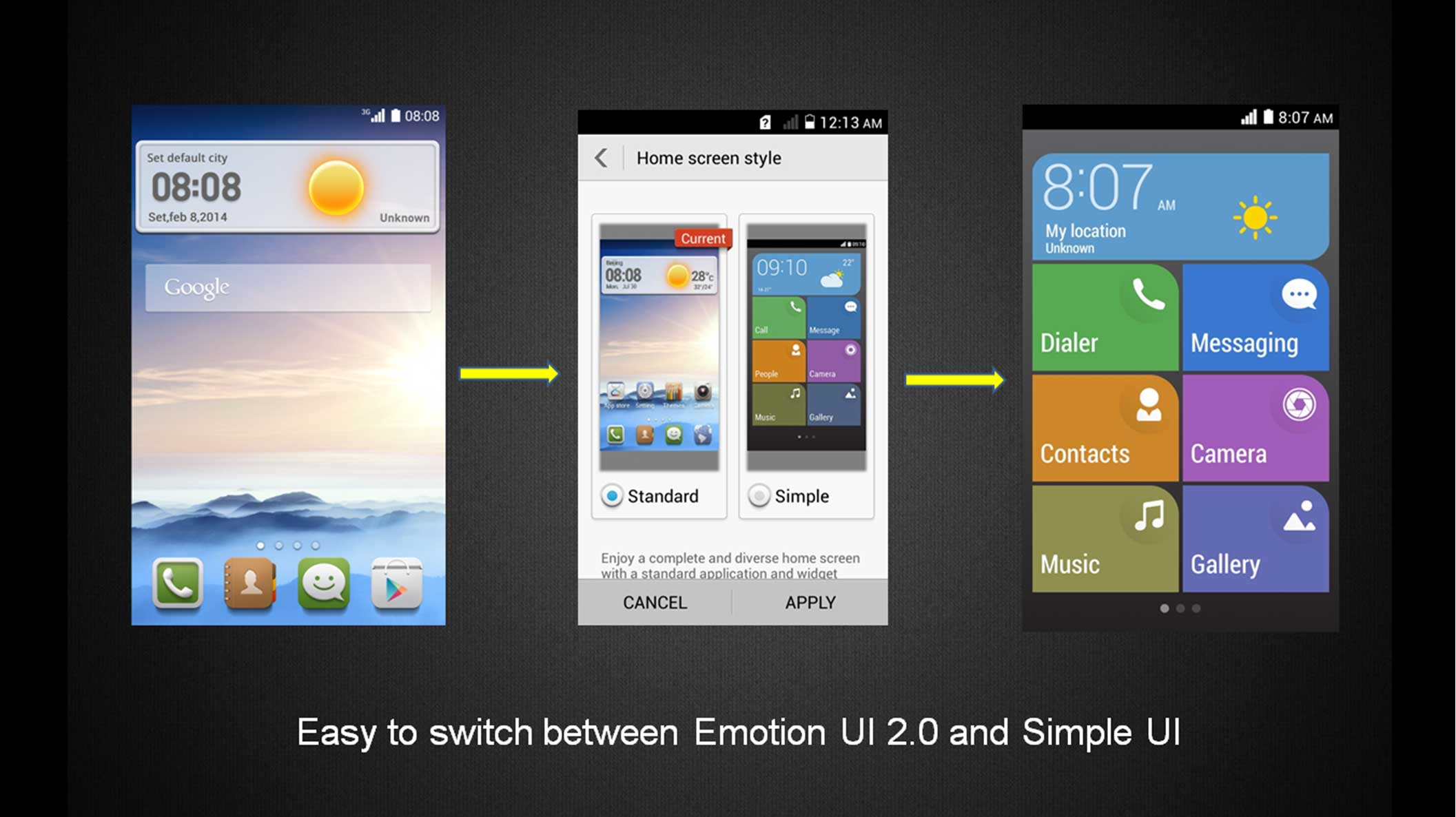 Huawei Ascend Y330 - Sim Free Smartphone Black (4 inch, 1 3GHz dual core) |  eBay