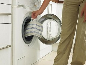Pads are reusable and last up to 100 wash cycles.
