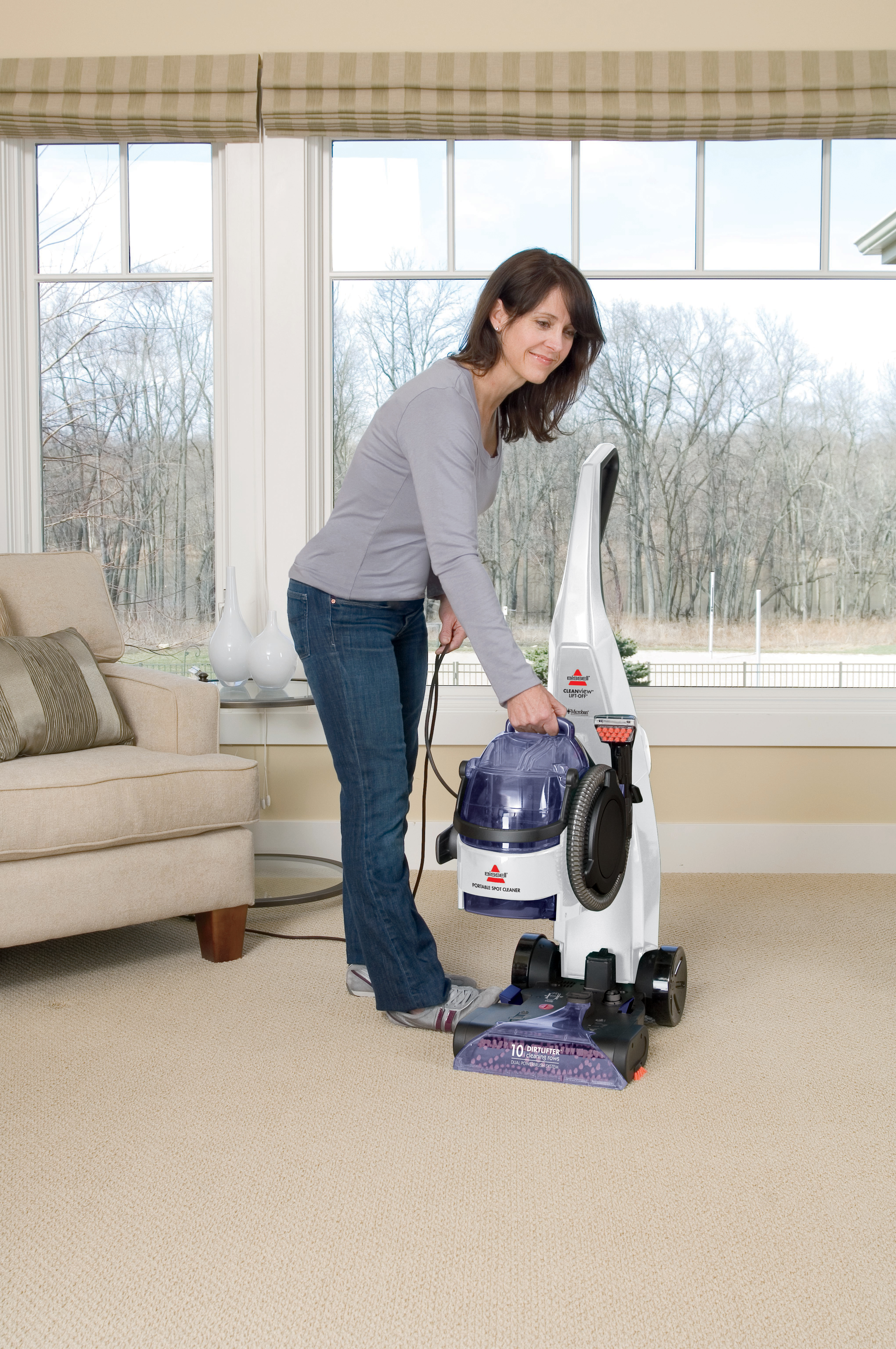 Bissell 22k7e Cleanview Liftoff Carpet Carpet Amp Upholstery