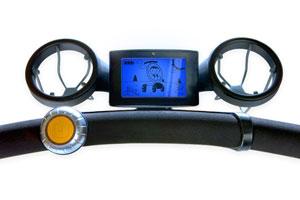 LCD dashboard