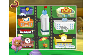 Discover places and people, and collect items that belong in cities along the way
