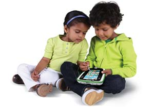 Children playing with LeapPad2 Power