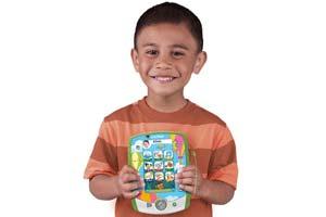Child holding the LeapPad2 Custom