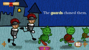 Mini-games progress the story