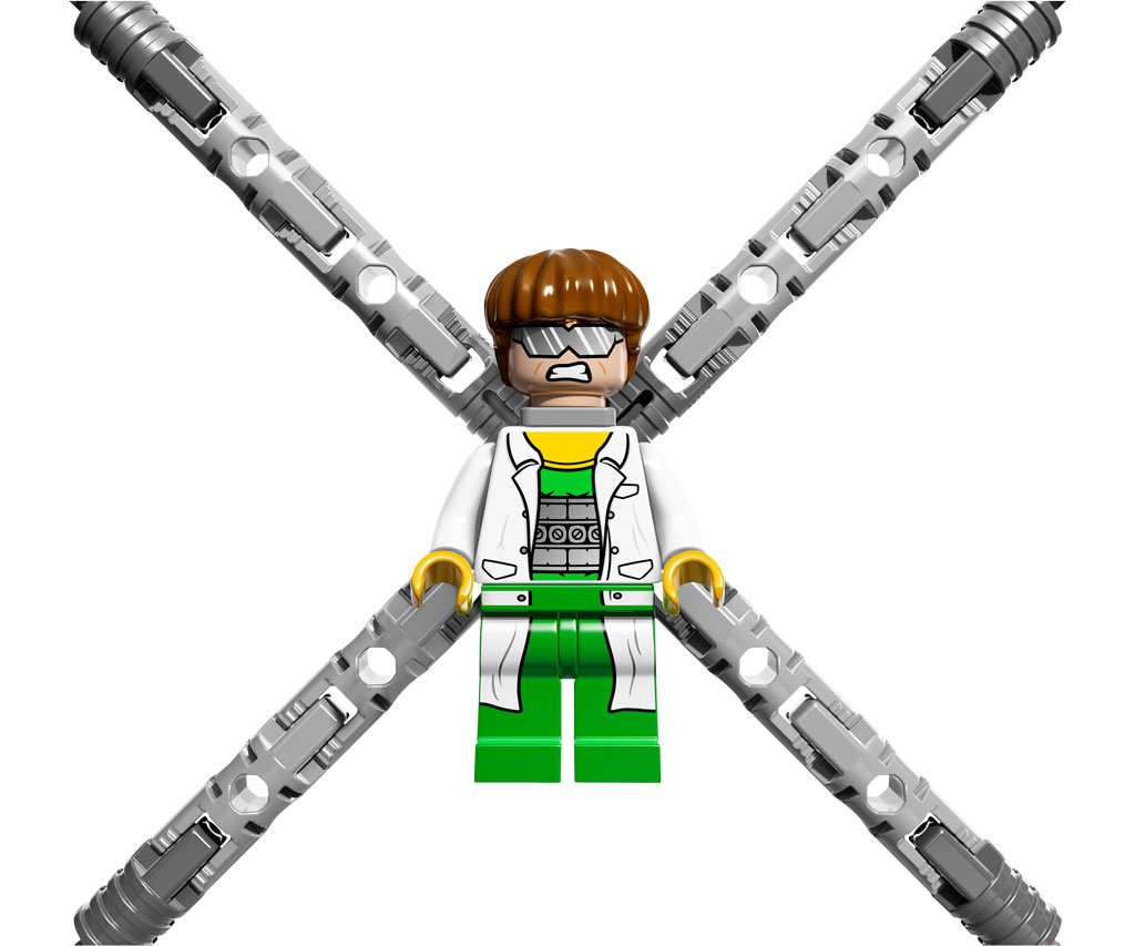LEGO Super Heroes 76015: Doc Ock Truck Heist: Amazon.co.uk ...