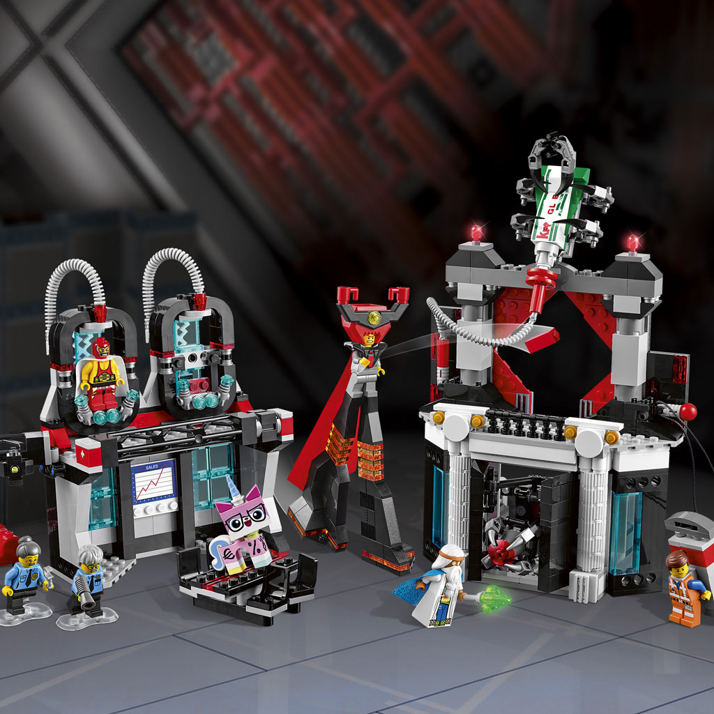 Instructions For LEGO 70809 Lord Business' Evil Lair
