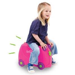 Trunki Ride-on Suitcase - Trixie (Pink): Amazon.co.uk: Luggage