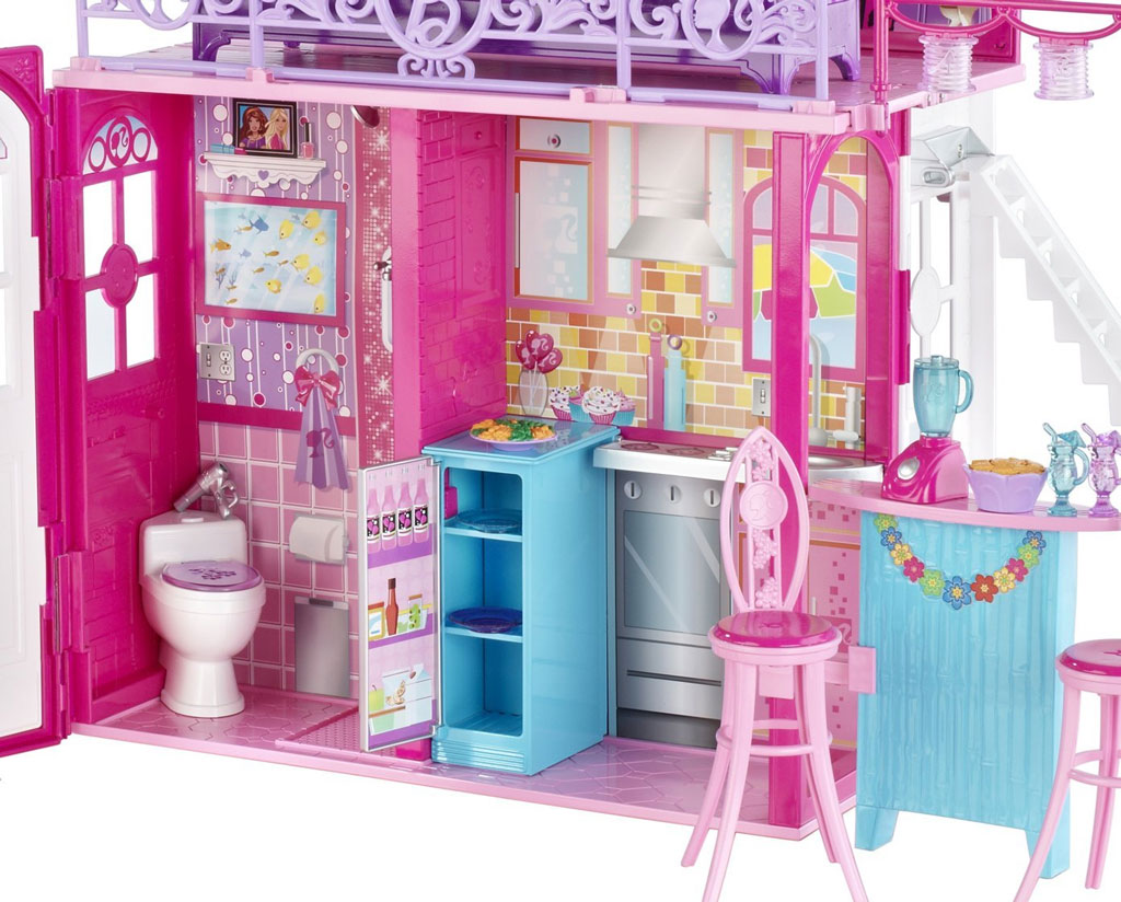 Barbie Glam Vacation House Amazon Co Uk Toys Amp Games