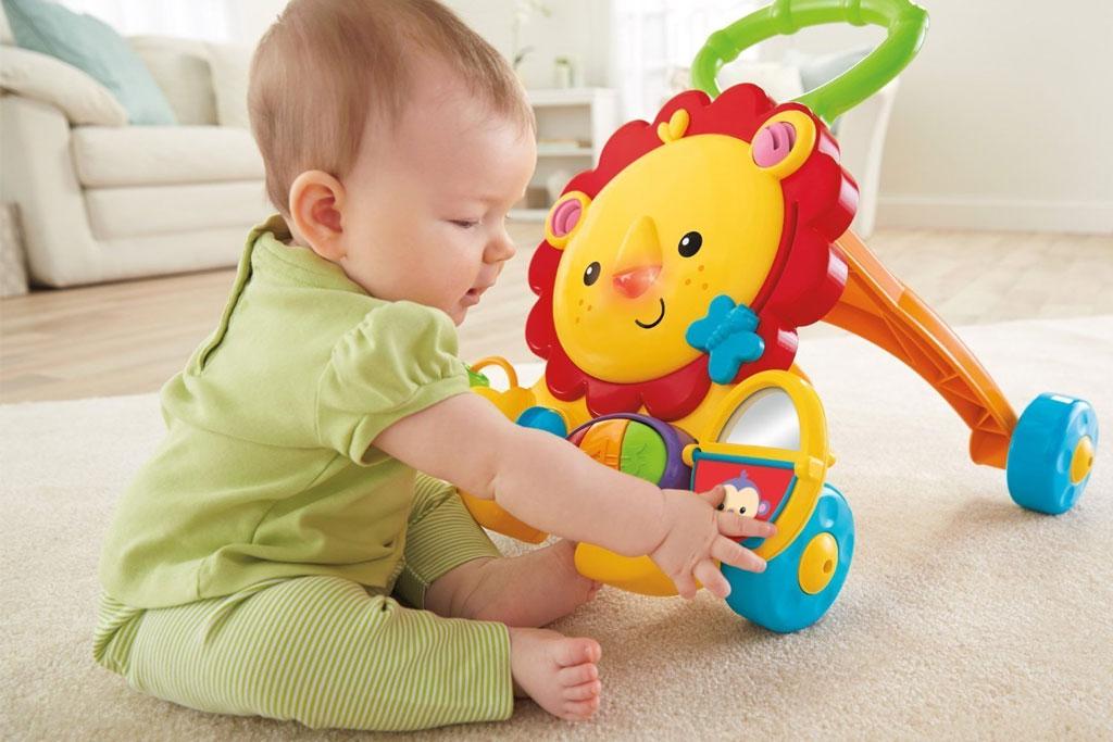 Fisher-Price Musical Lion Walker: Amazon.co.uk: Baby
