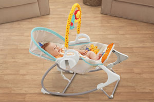 Stage two: portable infant seat