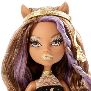 Clawdeen Wolf head and shoulders