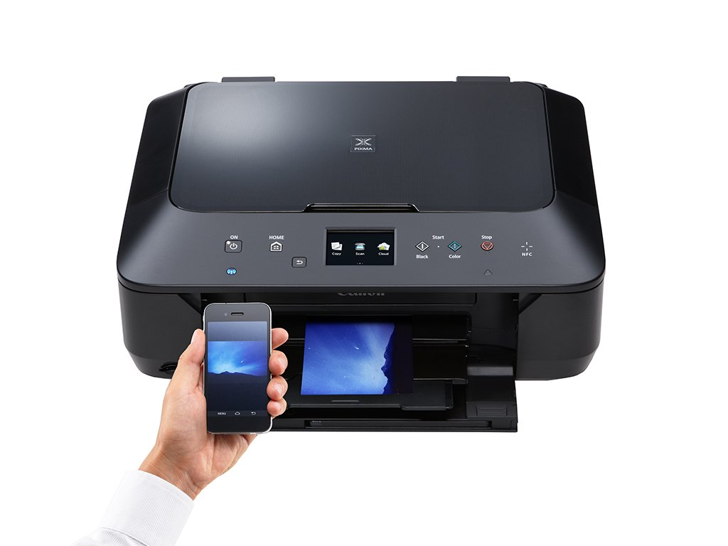 how to use a canon printer to print