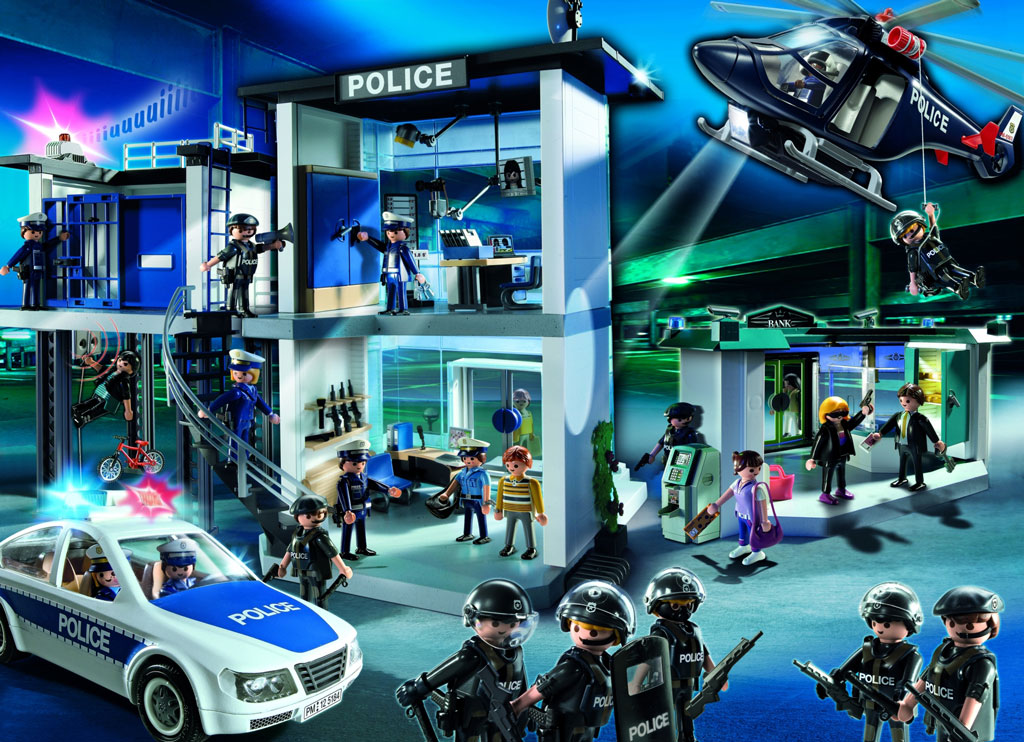 playmobil city action police set