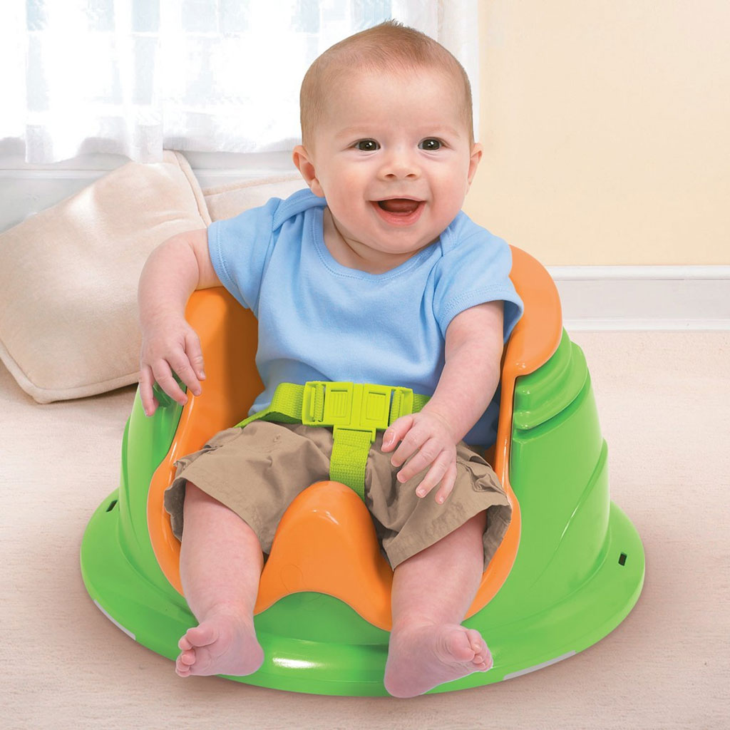 Summer Infant 3 Stage Super Seat Blue Baby