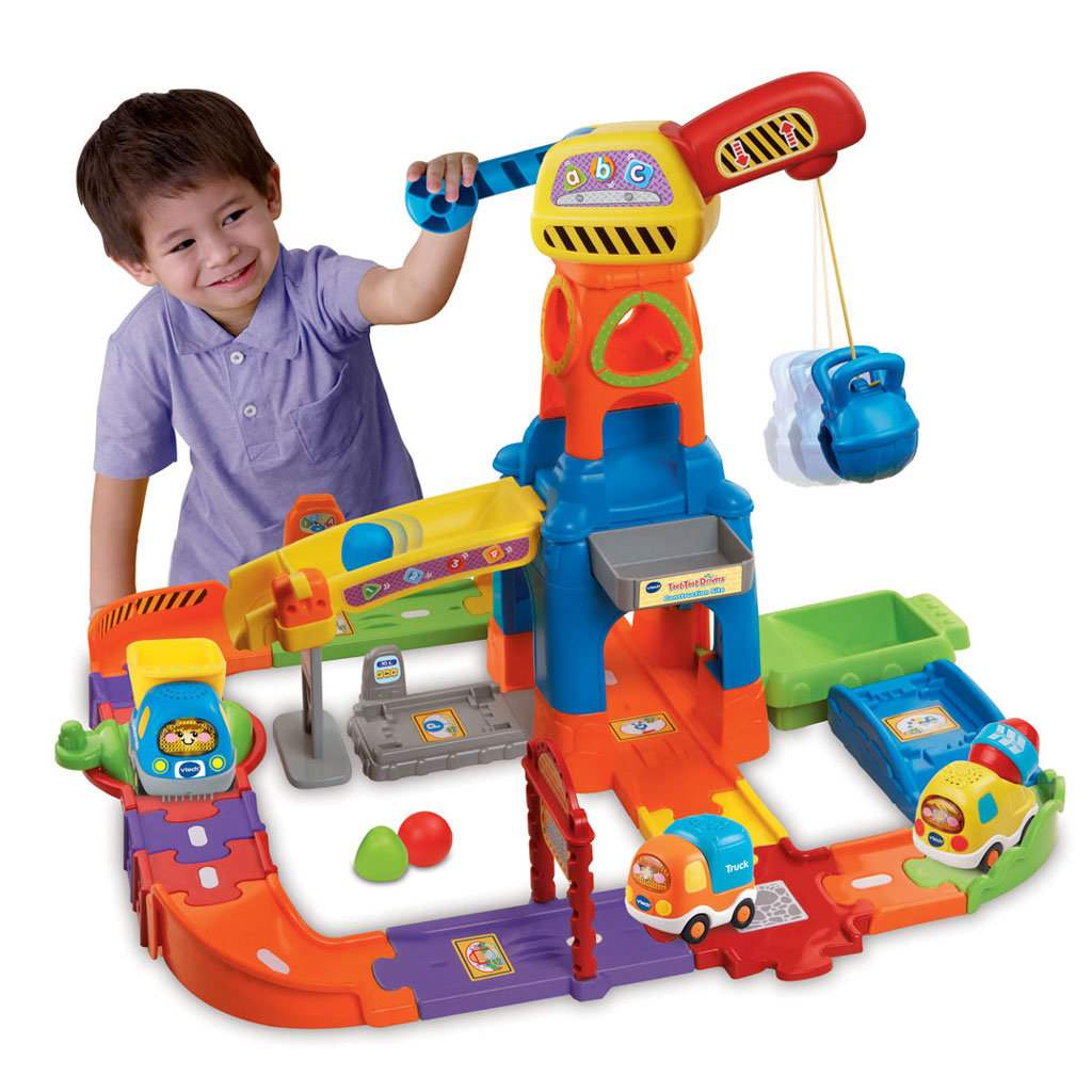 Construction Site Toys : Toot drivers construction site multi coloured