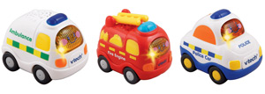 Toot-Toot Drives Emergency Vehicles