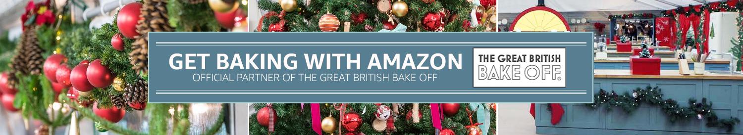 Get Baking with Amazon - Official partner of The Great British Bake Off