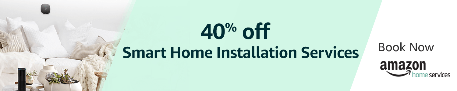 40% off Amazon Smart home installation service - Amazon.co.uk Deal