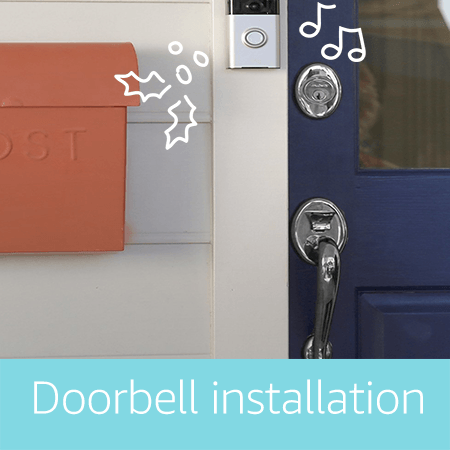 Smart door bell installation