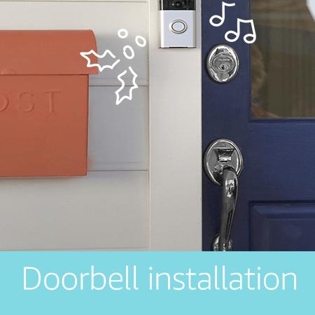 Smart door bell installation