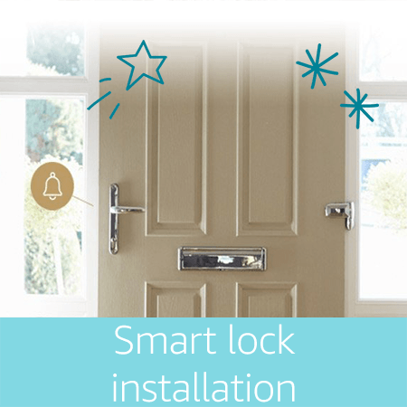 smart home lock installation