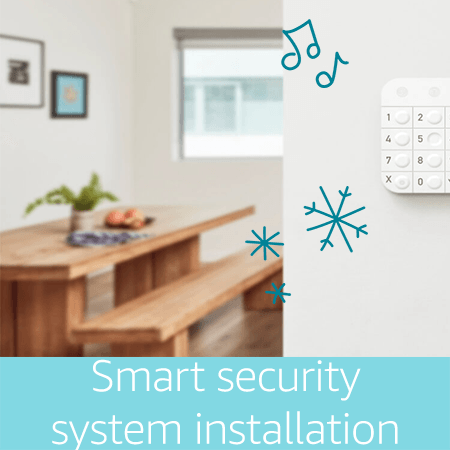 Smart Home Security system installation