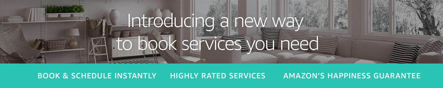 Don't DIY, Hire a Professional on Amazon.co.uk to help with home services- Amazon Home Services in UK and London