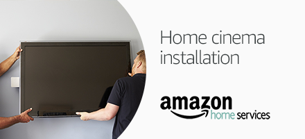 Book TV wall mounting, projectors, speaker and soundbar installation service- with shome cinema products on Amazon