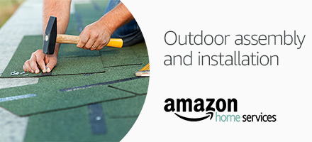 Book garden and outdoor furniture assembly and installation service on Amazon