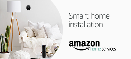 Book smart home installation service- with smart thermostat,security camera, door bell and more on Amazon