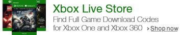 Xbox Live Full Game Downloads
