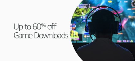 Up to 60% off Game Downloads