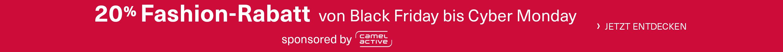 20% Fashion-Rabatt von Black Friday bis Cyber Monday