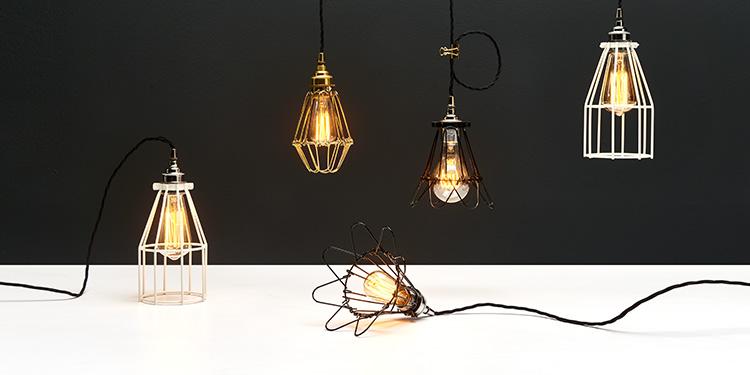 Industrieller Stil: Leuchten mit Charakter