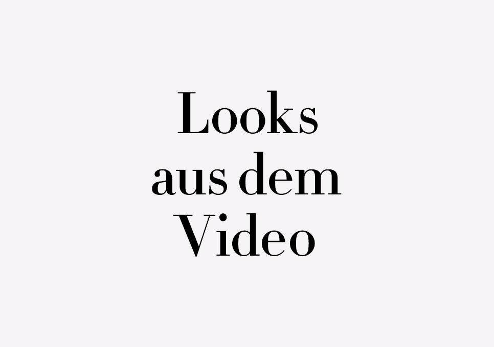 Herbst 2016: Looks aus dem Video