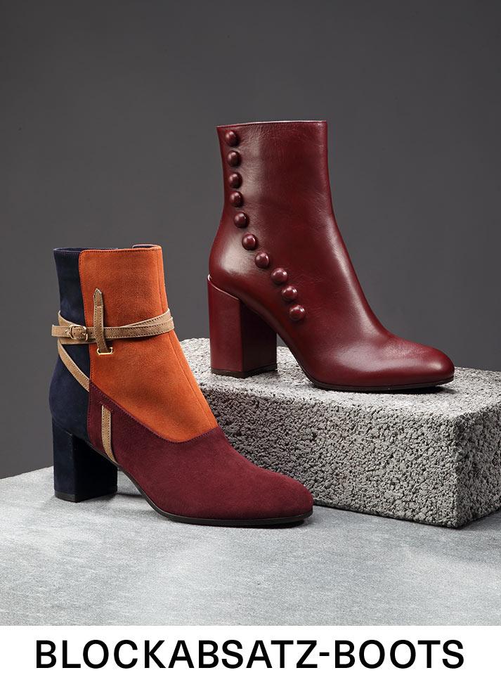 Blockabsatz-Boots
