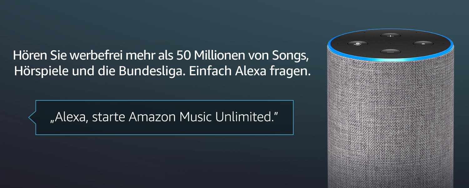 Amazon Music Unlimited Alexa