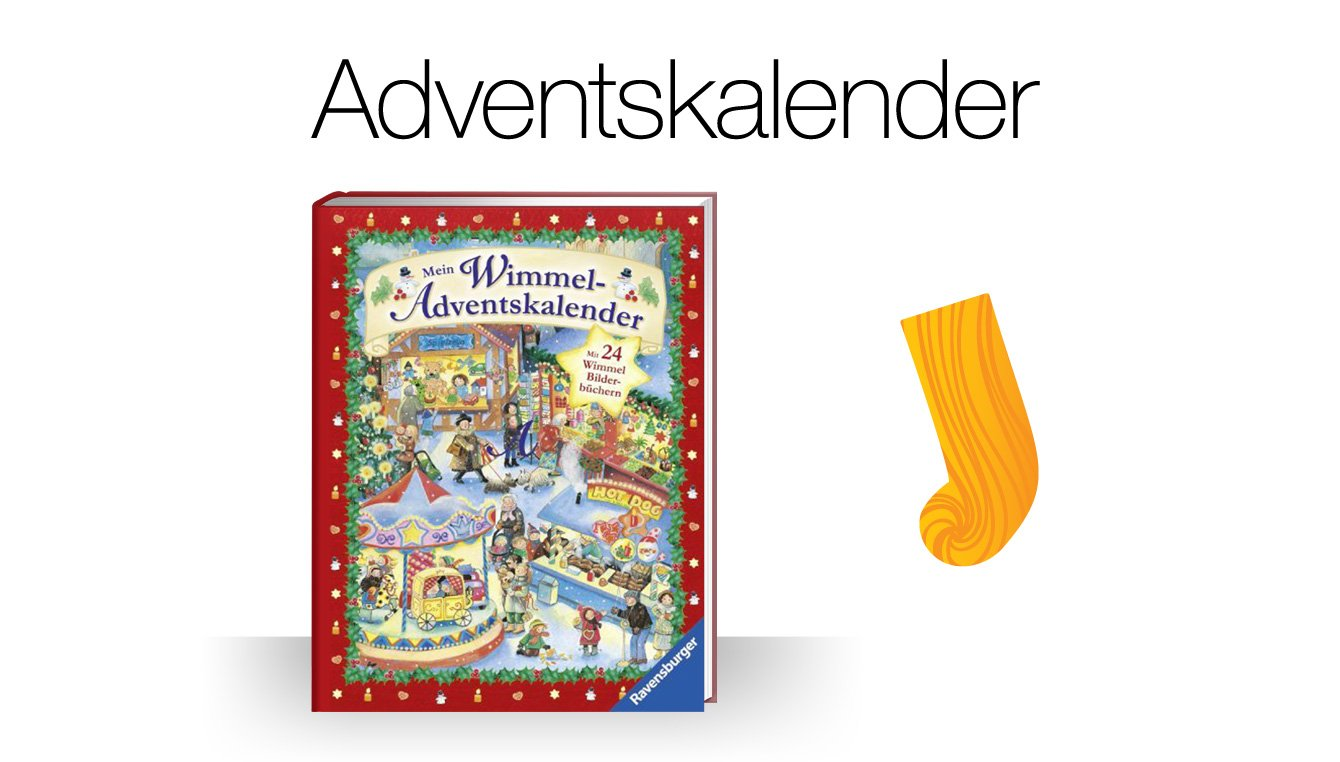 Adventskalender und Weihnachtsbücher