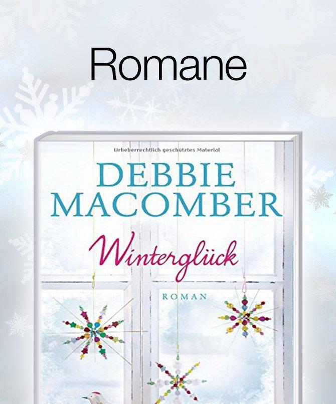 Geschenkideen Weihnachtsbücher Romane