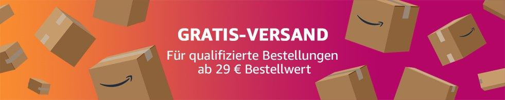 GRATIS-VERSAND Für qualifizierte Bestellungen ab 29 € Bestellwert
