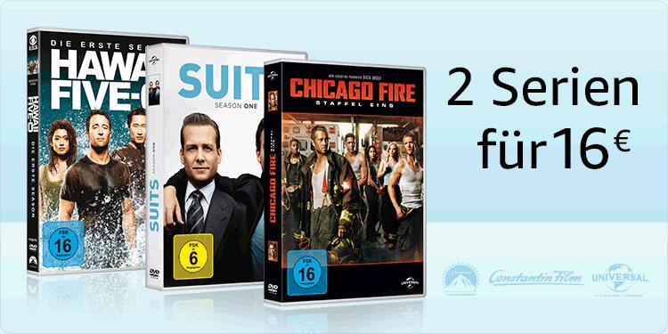 2 Serien für 16 EUR
